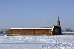 Pared de Kremlin imagenes de archivo