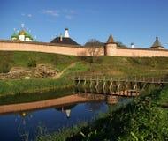 Pared de Kremlin en Suzdal Imágenes de archivo libres de regalías