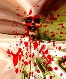 Pared de la carne del zombi Fotografía de archivo