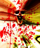 Pared de la carne del zombi Foto de archivo libre de regalías