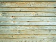 Pared de la casa de madera vieja Foto de archivo
