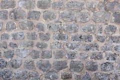 Pared de la casa hecha de piedra natural Imagenes de archivo