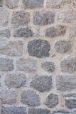 Pared de la casa hecha de piedra natural Fotografía de archivo libre de regalías