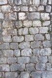 Pared de la casa hecha de piedra natural Foto de archivo