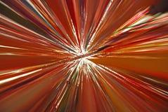 Pared de la cinta del color en el museo de Kiasma Imagenes de archivo