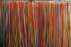 Pared de la cinta del color en el museo de Kiasma Fotografía de archivo libre de regalías