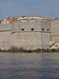 Pared de la ciudad de Dubrovnik Imagen de archivo