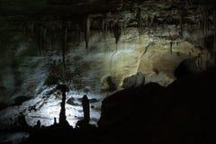 Pared de la cueva Foto de archivo libre de regalías