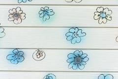 Pared de la flor imágenes de archivo libres de regalías