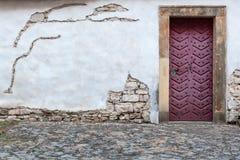 Pared de la fortaleza de un santo Wencesllas, Stara Boleslav, República Checa de la iglesia fotos de archivo