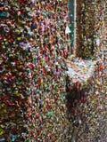 Pared de la goma de Seattles Imagen de archivo libre de regalías