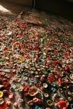 Pared de la goma en Seattle Washington Fotografía de archivo libre de regalías
