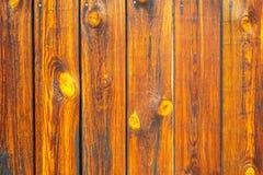 Pared de la madera Imagen de archivo