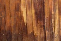 Pared de la madera Foto de archivo libre de regalías