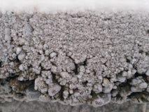 Pared de la nieve Foto de archivo libre de regalías