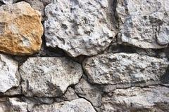 Pared de la piedra Fotografía de archivo