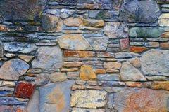 Pared de la piedra Foto de archivo libre de regalías