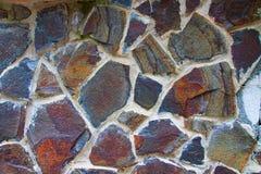 Pared de la piedra Imagen de archivo libre de regalías