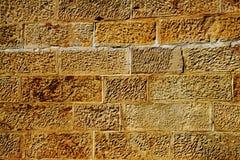 Pared de la piedra arenisca Foto de archivo libre de regalías
