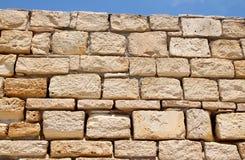 Pared de la piedra arenisca Fotografía de archivo