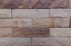Pared de la piedra arenisca Imagen de archivo