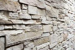 Pared de la piedra blanca Fotografía de archivo libre de regalías