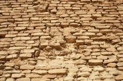 Pared de la piedra caliza Foto de archivo libre de regalías