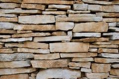Pared de la piedra caliza - suhozid Fotografía de archivo libre de regalías