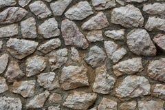 Pared de la piedra natural cortada Imagen de archivo
