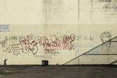 Pared de la pintada Foto de archivo libre de regalías