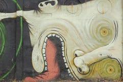 Pared de la pintada Fotografía de archivo libre de regalías