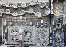 Pared de la porcelana imágenes de archivo libres de regalías