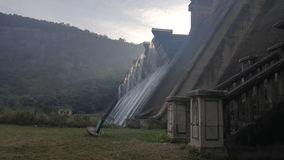 Pared de la presa de Shongweni Imagen de archivo libre de regalías