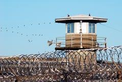 Pared de la prisión Foto de archivo libre de regalías