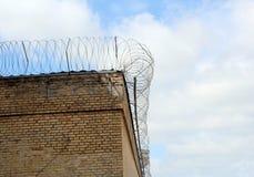 Pared de la prisión Imágenes de archivo libres de regalías