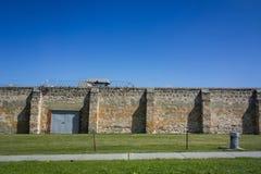 Pared de la prisión Imagen de archivo libre de regalías