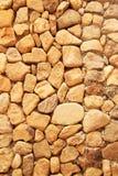 Pared de la roca Foto de archivo libre de regalías