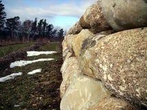 Pared de la roca fotografía de archivo libre de regalías
