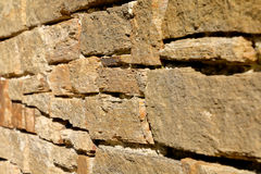 Pared de la roca del fondo Imagen de archivo libre de regalías
