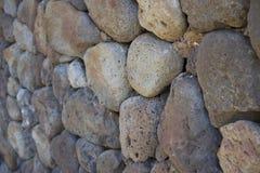 Pared de la roca encontrada en Maui Fotos de archivo libres de regalías