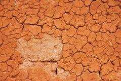 Pared de la sequía Imagenes de archivo