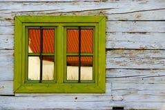 Pared de la ventana Foto de archivo libre de regalías