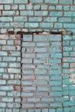 Pared de ladrillo Foto de archivo libre de regalías