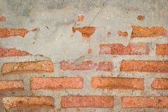 Pared de ladrillo Imagen de archivo libre de regalías