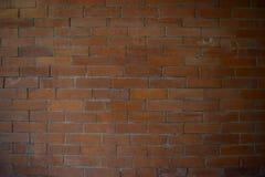 Pared de ladrillo anaranjada Foto de archivo