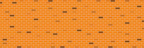 pared de ladrillo anaranjada retra horizontal para el modelo y el fondo, VE Foto de archivo