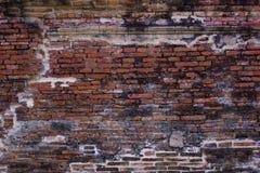 Pared de ladrillo antigua Imagenes de archivo