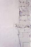Pared de ladrillo blanca imágenes de archivo libres de regalías
