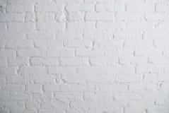Pared de ladrillo blanca Fotos de archivo libres de regalías