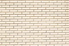 Pared de ladrillo blanca moderna Foto de archivo libre de regalías